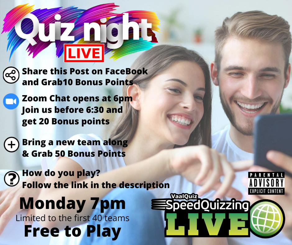 Join us Monday at 7pm